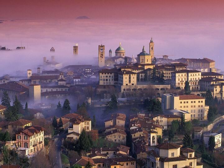 Ampio quadrilocale centro Bergamo