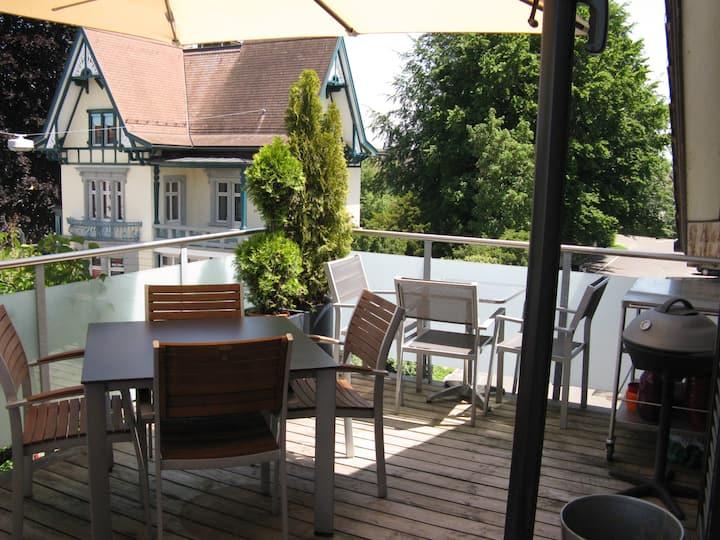 Cosy Loft 150m2 near Lake Constance