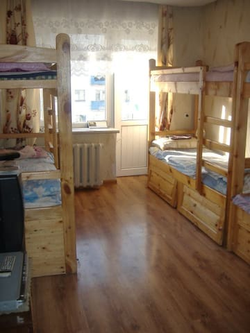 Mongolian Steppe Guesthouse dorm