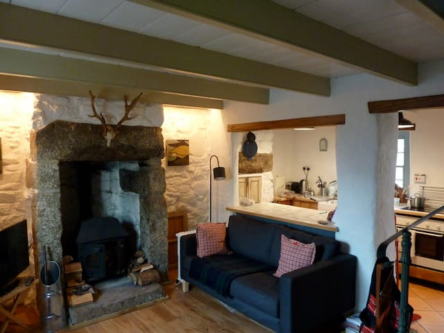 Romantic Traditional Cottage - Ludgvan - Casa