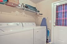 A washer and dryer are available for your convenience.