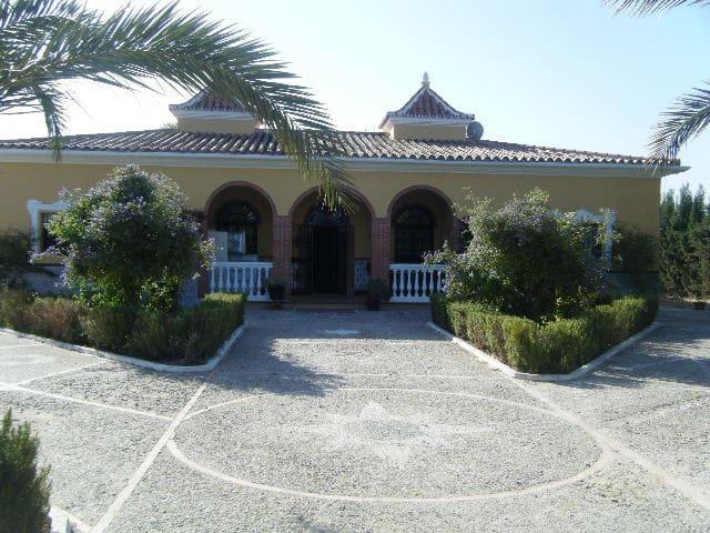 Precioso cortijo al sur de Sevilla - Lebrija - Hytte (i sveitsisk stil)