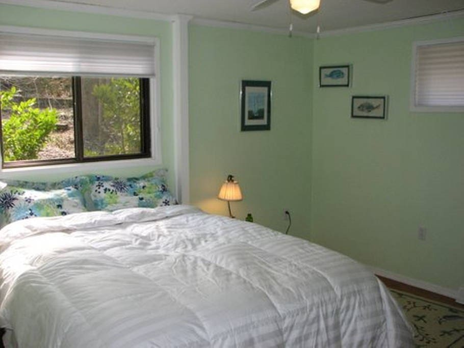 Your guest room---quiet and peaceful.  Fast wifi