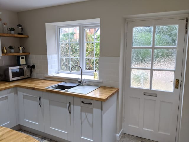 Light and airy kitchen