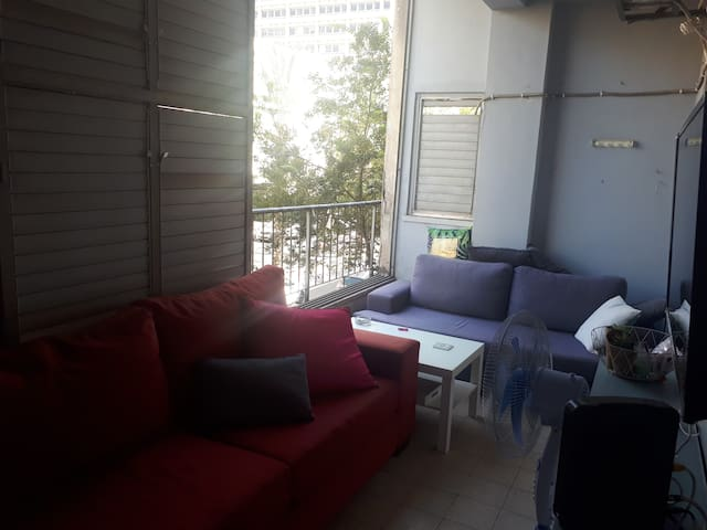 Large room in a 3 bedroom apt in the heart of TLV