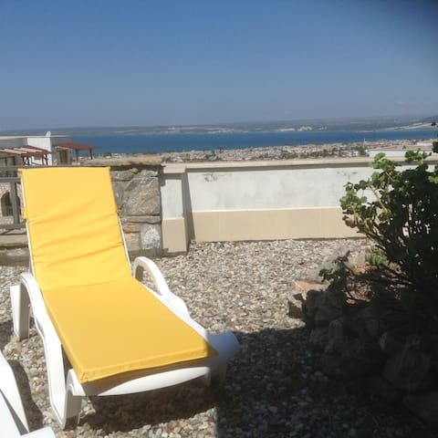 2 bed apartment with pool/seaviews - Akbük - Pis