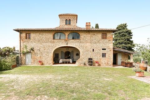 Casa di Romano - La Loggia 6 invitati