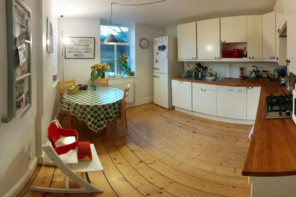 Wonderful kitchen with all set up for a small child