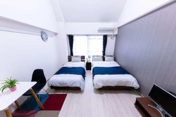 902  cozy room near Tenjin with free wifi