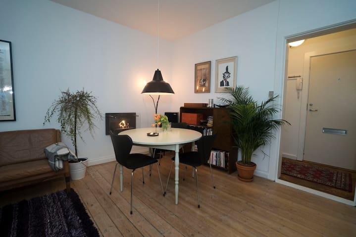 Bright, cozy apartment with balcon