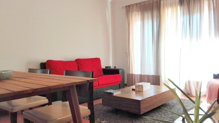 Sunny flat apartment 10m to the coast and OPorto