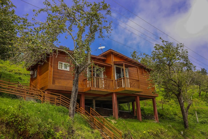 Chalet One | A Wooden Home with amazing view
