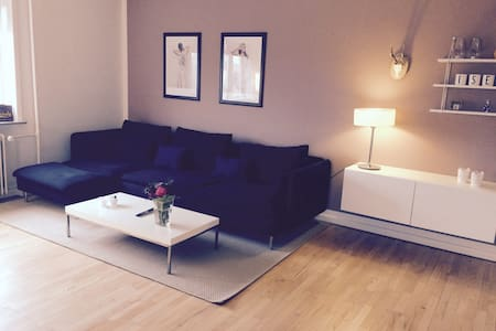 Cozy penthouse in the center of Aabenraa - Aabenraa - アパート