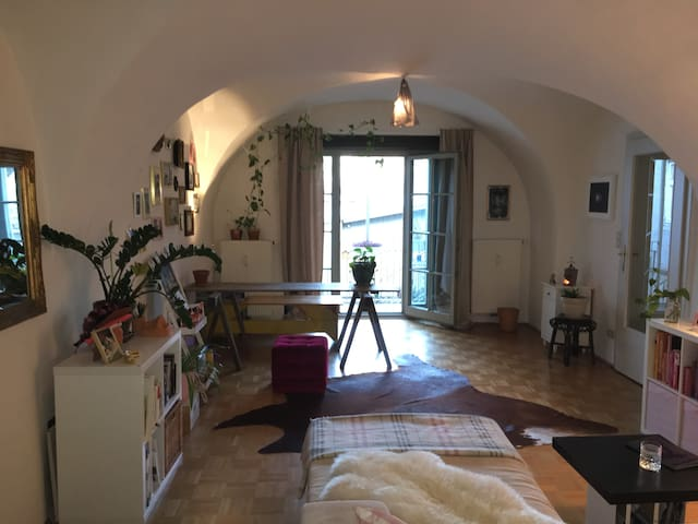 Charming, cozy apt next to Kunsthaus, nicest area - Graz - Appartement