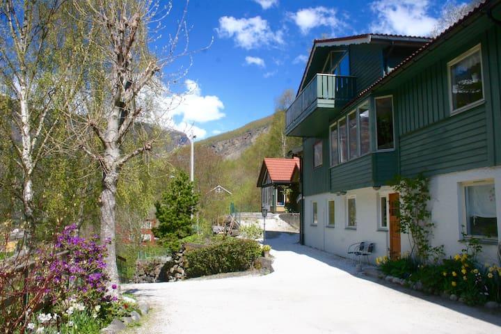 Lovely apartment located next to Flåmsbana (apt 2)