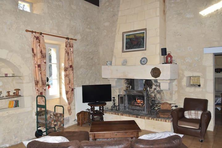Maison de charme proche Saint Emilion - Grézillac - Casa