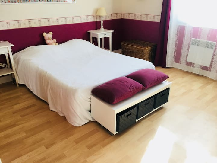 Chambre calme à 10 min d'Angoulême