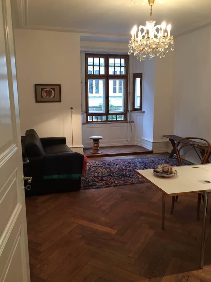Lovely 1-bedroom art-nouveau flat in Kleinbasel