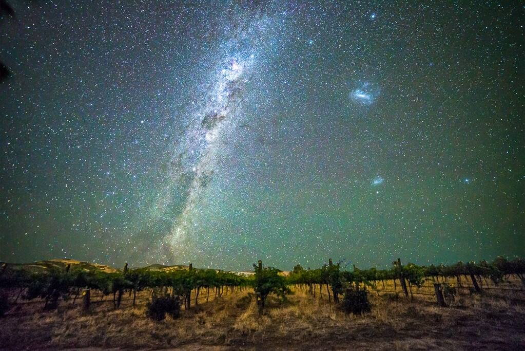 Photo taken from Sellicks Chills Vineyard.  Our skies at night are something to behold.