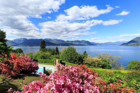 Breathtaking views with swimming pool, Stresa