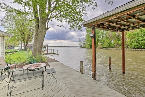 Chippewa Cottage w/ Patio & Dock on Indian Lake!