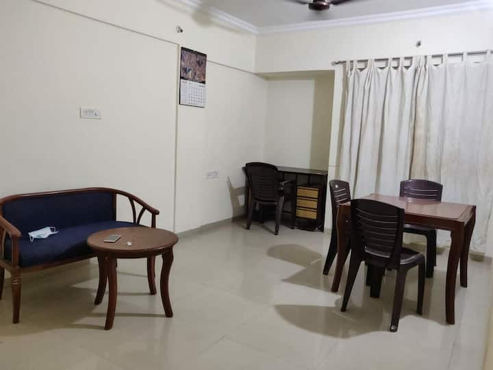 Entire 1Bhk flat in viman Nagar 10 min airport