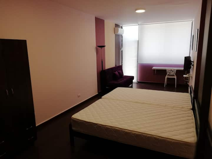 Your spacious studio with 10min drive to Beirut