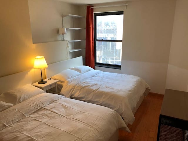 Two double beds, New York, Chinatown, #2