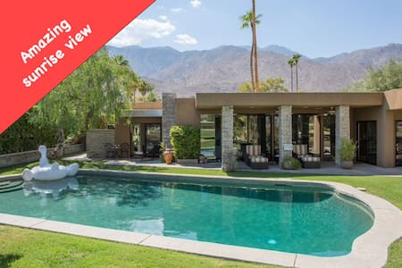 A LUXURY HOME (SUNRISE + POOL + PRIVACY + BKF opt) - Palm Springs