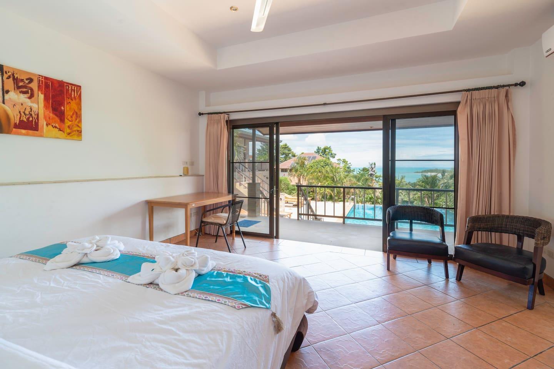 Quantic Jump Villa - Room 1 with seaview