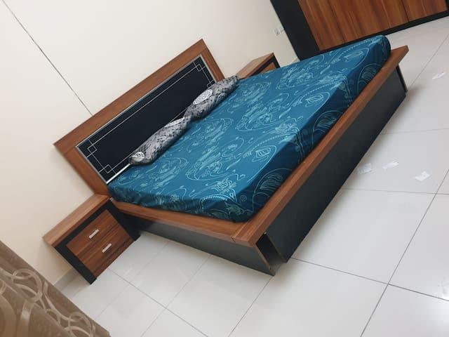 Private room at Dubai-Sharjah border