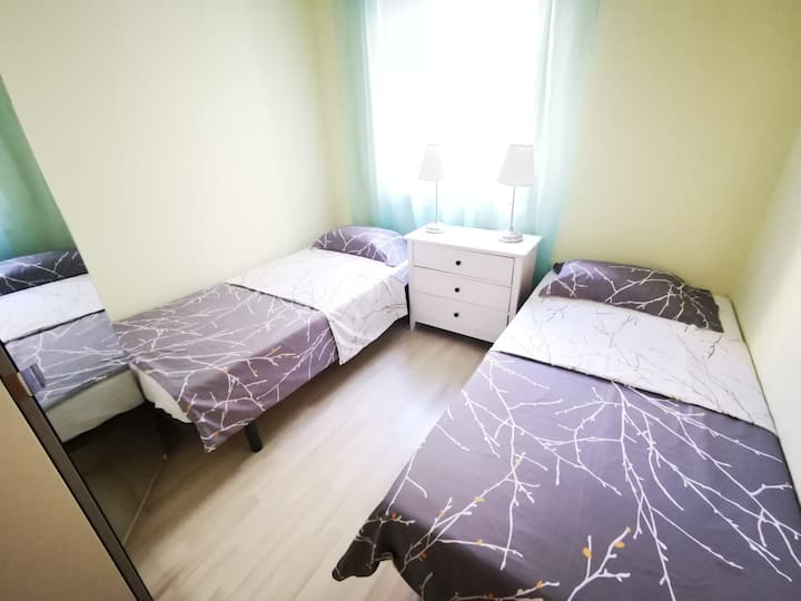 Room for 2persons  in Barcelona center!