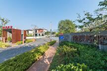 五居6床独栋别墅带私人花园田园白鹭风景三亚亚龙湾奥特莱斯龙溪悦墅近沙滩森林公园