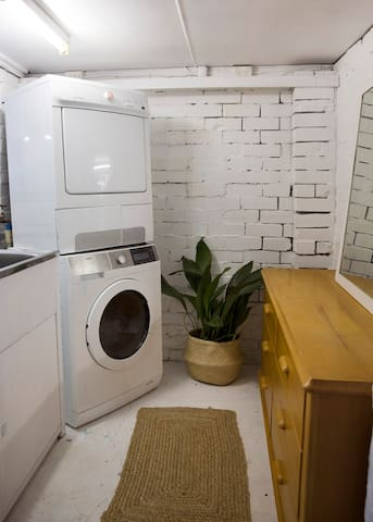 Laundry - make yourself at home and use whatever you would like to in there.