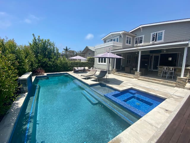 Private Hermosa Beach Pool House&Remote Workplace!