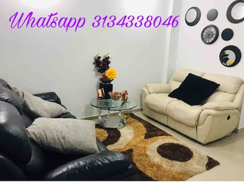 Spacious apartment with excellent location