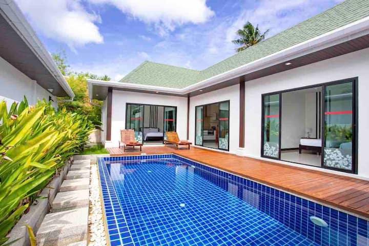 Luxury 2 bedrooms pool villa by SangaVillas (C)