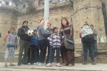 Accommodation,  yoga, Volunteer etc - Varanasi - Casa