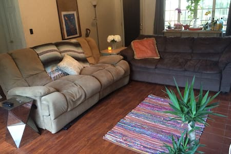 Comfy Couch in The Heart of Orlando - Orlando