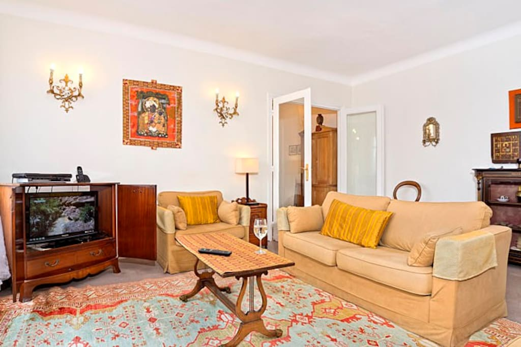 Light and bright apartment steps from Luxembourg Gardens