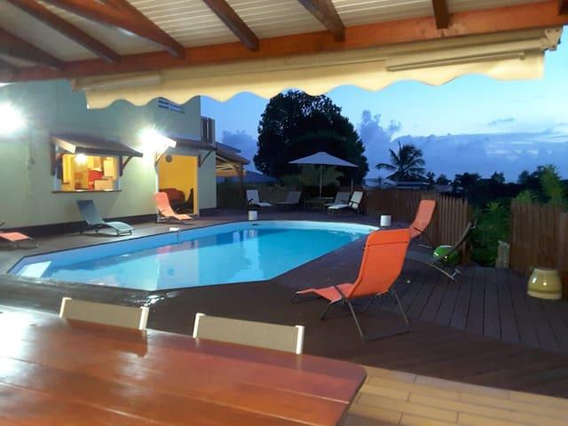 Villa Colibri - Piscine - Accès direct Plage