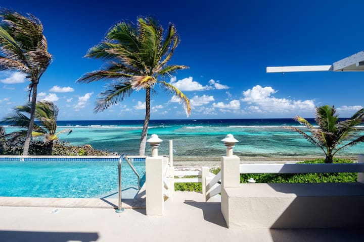 Coral Loft, Grand Cayman Villa on the Beach, 4 BRs