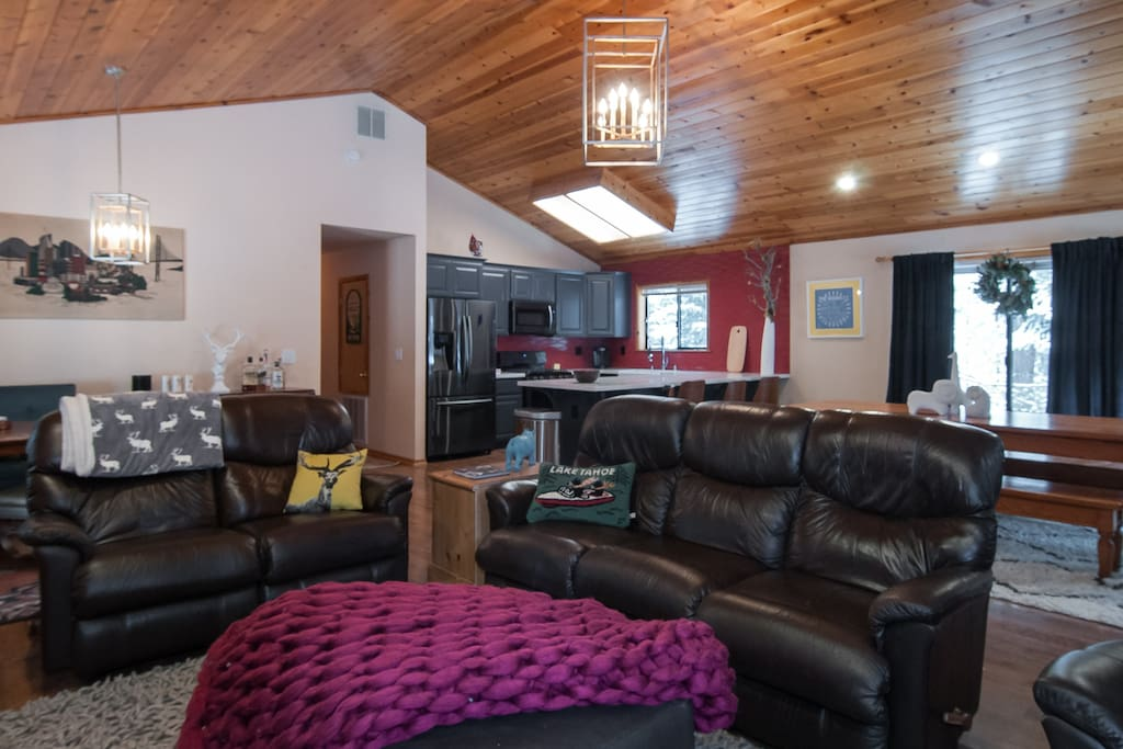 Grand great room, perfect for entertaining and family fun