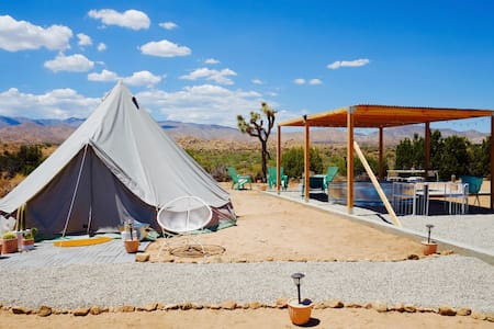 Starr Canyon Glamping Retreat on 80 Acres - Pioneertown