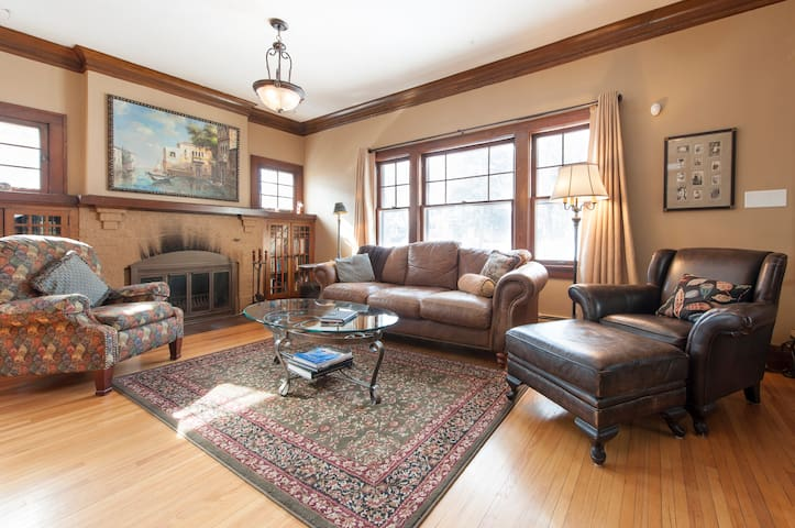 Linden Hills 4-BR/3-bath home - Minneapolis - Hus