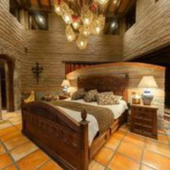 Amazing fully decorated main bedroom