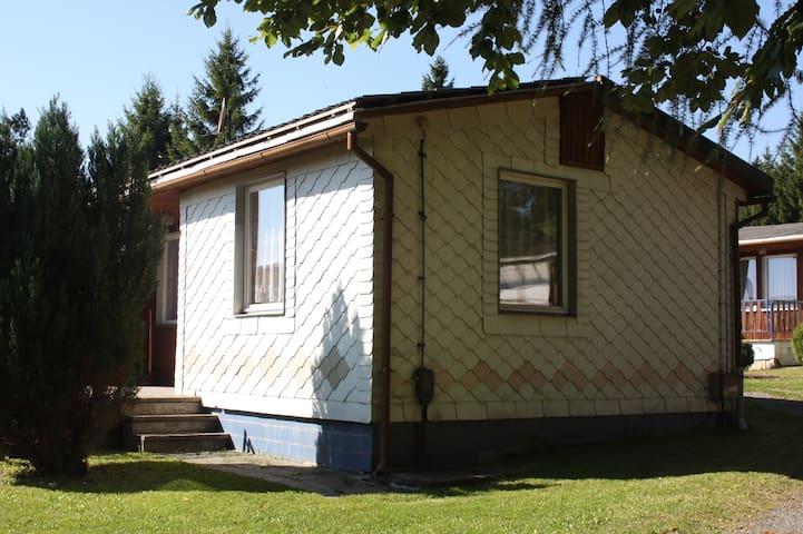 Ferienwohnung in grüner Idylle - Großbreitenbach - Huis