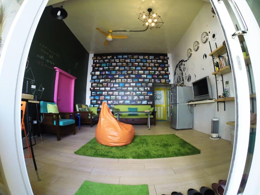 海角一館-客廳空間