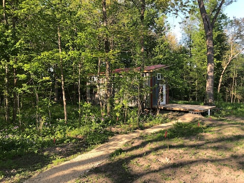 Little House on the Pretty!   Tiny Home in Woods