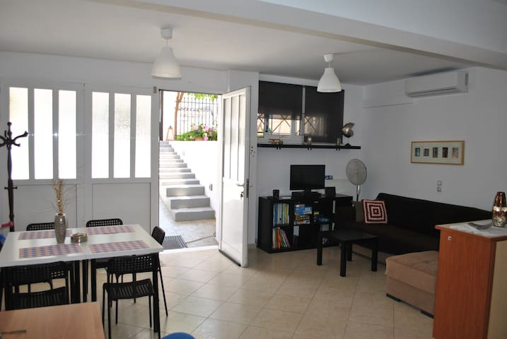 Semi Basement Large Family Apartment 80sqm Corinth